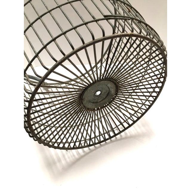 Vintage Belgian Metal Potato Basket - Image 3 of 6