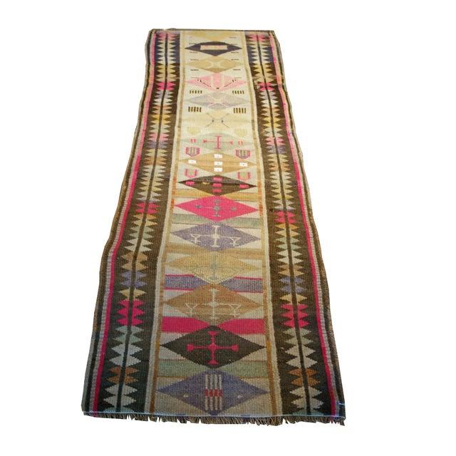 Antique Oushak Design Rug For Sale In Nashville - Image 6 of 6