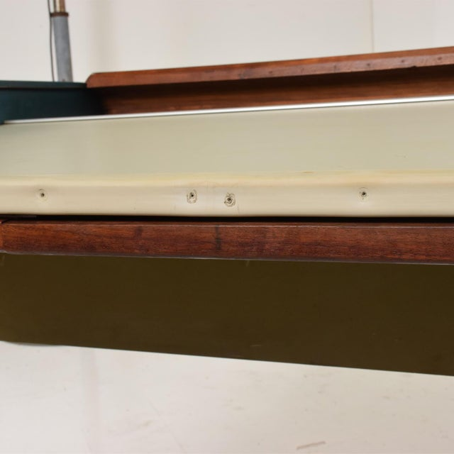 1960s Rare Mid Century Modern Action Desk by George Nelson & Robert Propst Herman Miller For Sale - Image 5 of 10