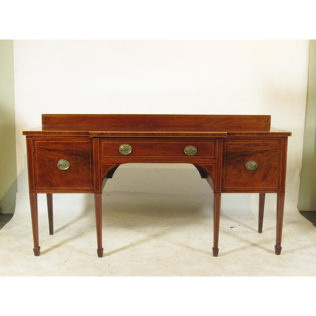 18th Century George III Inlaid Sideboard For Sale - Image 10 of 10