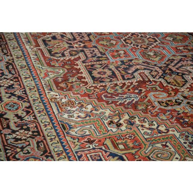 "Vintage Heriz Carpet - 8'2"" X 10'4"" - Image 3 of 10"