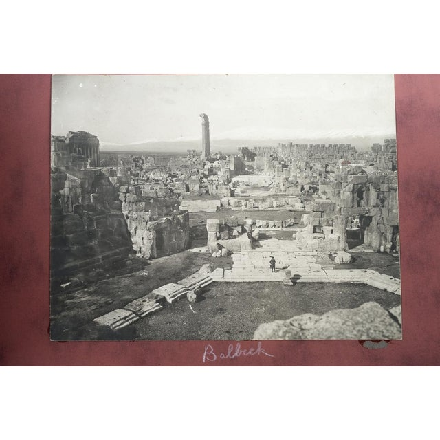 Brown 1920s Holy Land Photo Album For Sale - Image 8 of 9