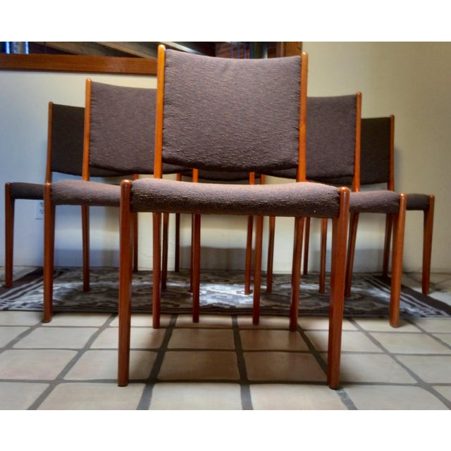 Farso Stolefabrik Teak Danish Modern Dining Chairs - Set of 6 - Image 10 of 11