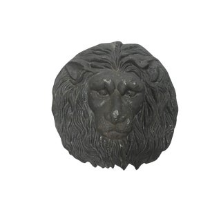 Cast Iron Lion Wall Mount For Sale