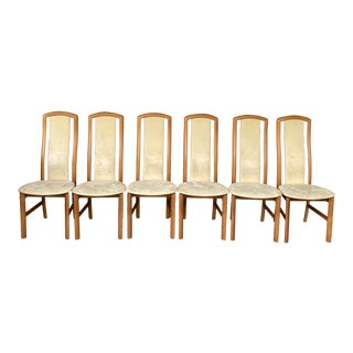 Skovby Kirsebaer Danish Modern Dining Chairs - Set of 6 For Sale