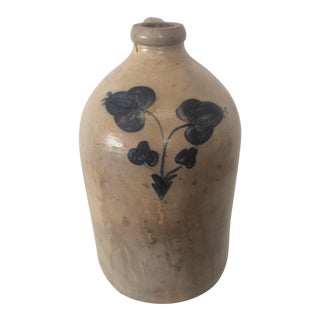 Stone-Ware Saltine Glaze Crock Jug