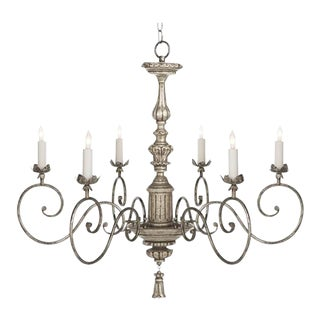 Silver Karolina Chandelier For Sale