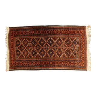 """Antique Persian Tribal Baluchi Rug3'1""""x 5'7"""" For Sale"""