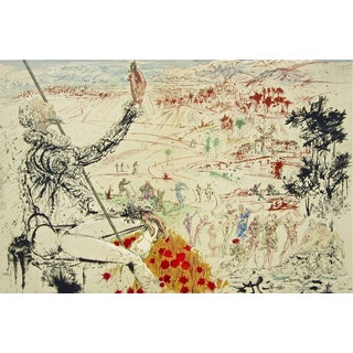 Salvador Dalí­ The Golden Age 1957 For Sale