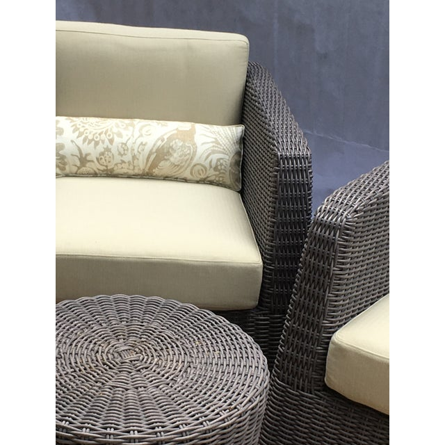 Metal Patio Furniture by Janus Et Cie- 3 Pieces For Sale - Image 7 of 12