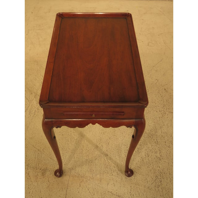 Kittinger Colonial Williamsburg Mahogany Tea Table - Image 6 of 11