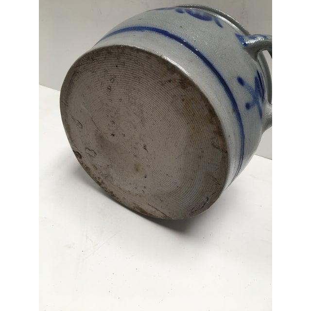 Vintage German Blue Salt Glazed Crock For Sale - Image 9 of 9