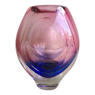 Ombre Studio Glass Vase For Sale