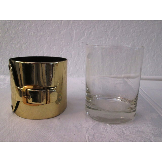 Gold Buckle Double Rocks Glasses - Set of 6 - Image 7 of 7