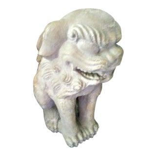 Vintage Austin Productions Stone Foo Dog Lion Sculpture Statue 1962 For Sale