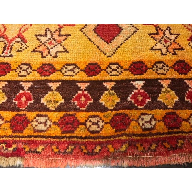 "Bellwether Rugs Vintage Turkish Oushak Area Rug - 3'8"" X 5'4"" - Image 7 of 11"