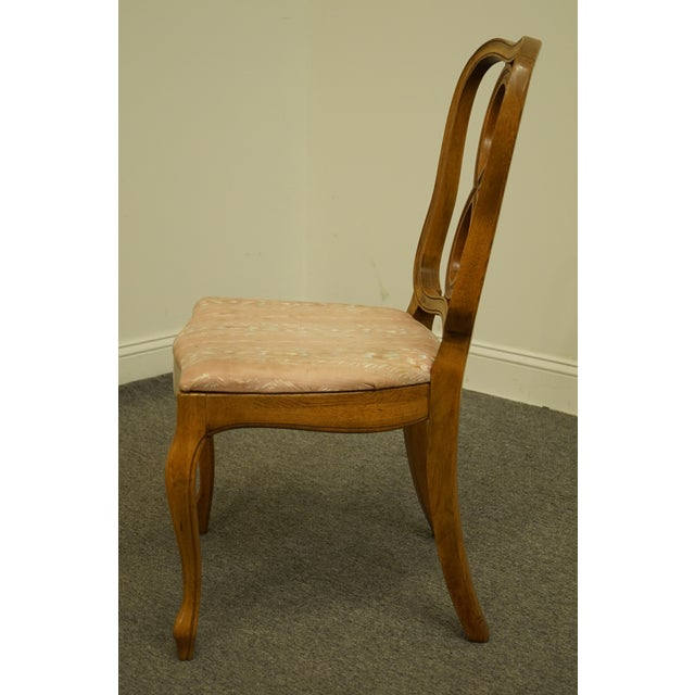 Vintage Thomasville Furniture Tableau Collection Dining Side Chair For Sale In Kansas City - Image 6 of 11