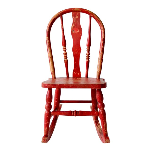 Antique Children's Rocking Chair - Antique Children's Rocking Chair Chairish