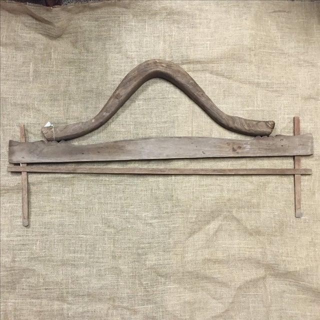 Antique Rustic Wooden Yoke - Image 2 of 5