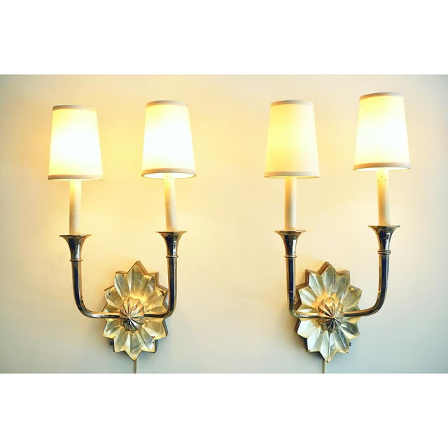 1930s French Art Deco Sconces For Sale - Image 5 of 9