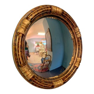 Maitland-Smith Convex Mirror For Sale