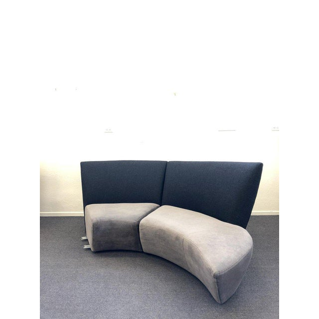 Vladimir Kagan Five Piece Sectional Sofa by Vladimir Kagan for Preview For Sale - Image 4 of 13