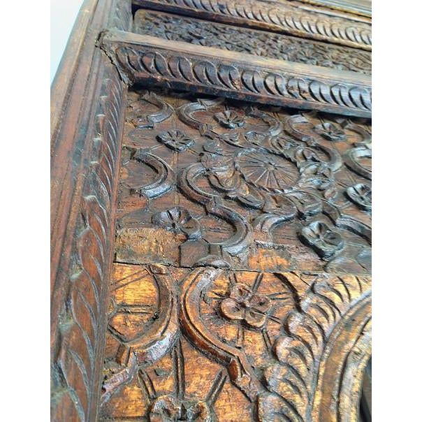 Large Indian Carved Palace Shelves - Image 3 of 5