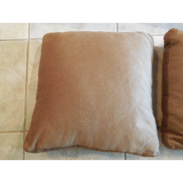"""NEW (Pillow with the original tag has sold) I purchased these pillows from Saks Fifth Avenue MSRP: $250 Measurements: 19""""..."""