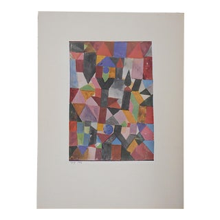 Vintage Ltd. Ed. Modernist Lithograph-Paul Klee- c.1955-Folio Size For Sale