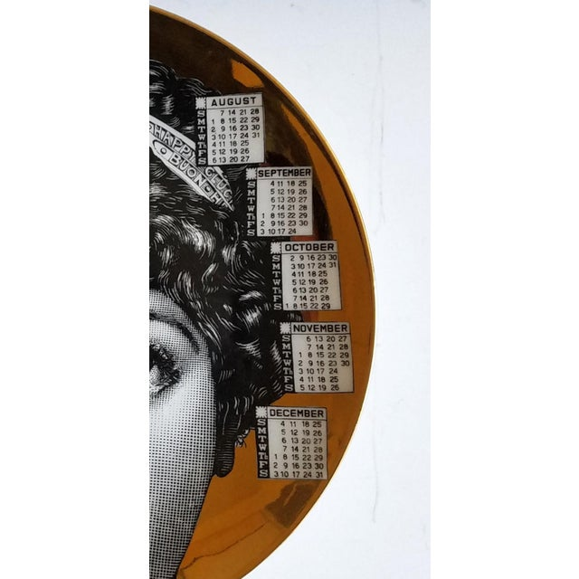 Barnaba Fornasetti Calendar Plate for 1994 - Image 5 of 6