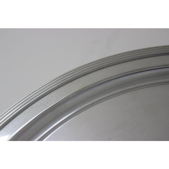 1960s Mid-Century Modern Tiffany & Co Sterling Silver Tray For Sale - Image 5 of 10