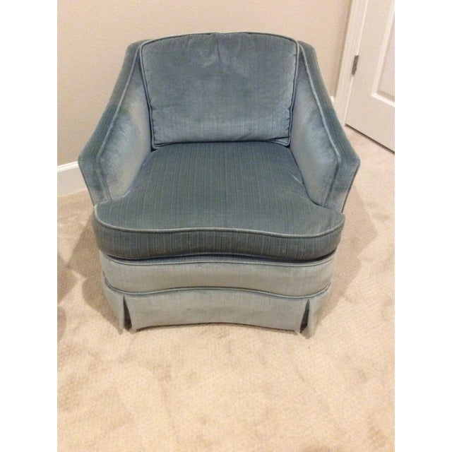 1970s Vintage Drexel Heritage Armchairs - a Pair For Sale - Image 9 of 13