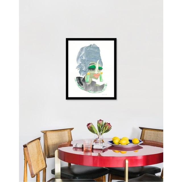 "Medium ""Ekpo"" Print by Melvin G., 18"" X 22"" | Chairish"