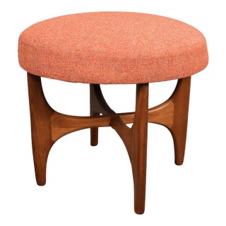 "Vb Wilkins for G Plan Mid Century ""Astro"" Footstool"
