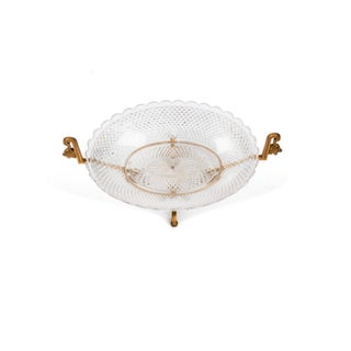 Baccarat Crystal and Bronze Bowl Preview