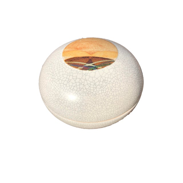 Rob Wiedmaier Art Studio Pottery Covered Jar For Sale In New York - Image 6 of 6
