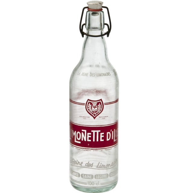 French Red Limonette Dille Bottle - Image 1 of 3