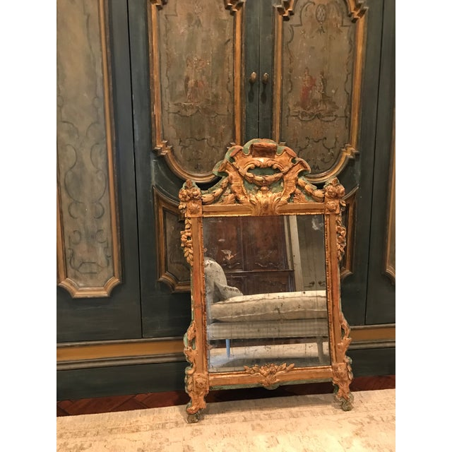 Wood Louis XV Mirror For Sale - Image 7 of 7