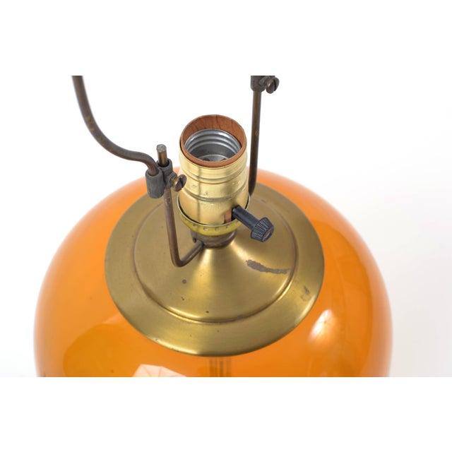 1980s Blenko Blown Glass Lamp Designed by Don Shepherd For Sale - Image 5 of 10