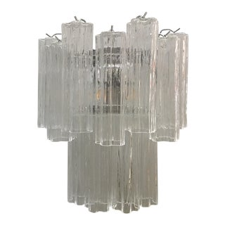"Applique Murano Glass ""Tronchi"" Wall Sconce Wall Lamps For Sale"