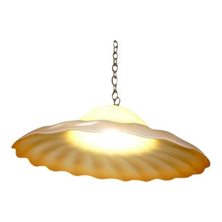 Toni Zuccheri Lentucchiona Glass Light Fixture For Sale
