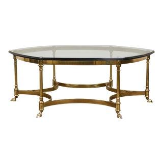 Mid-Century Maison Jansen Style Coffee Table For Sale