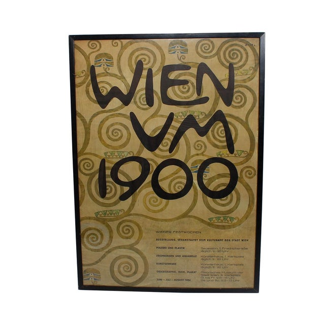 Vintage 1964 Wien Festival Poster - Image 1 of 5