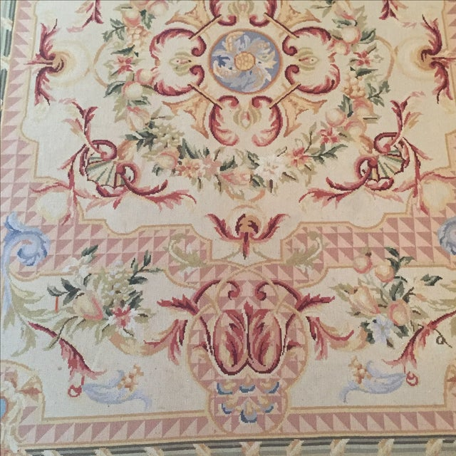Vintage French Tapestry For Sale - Image 4 of 9