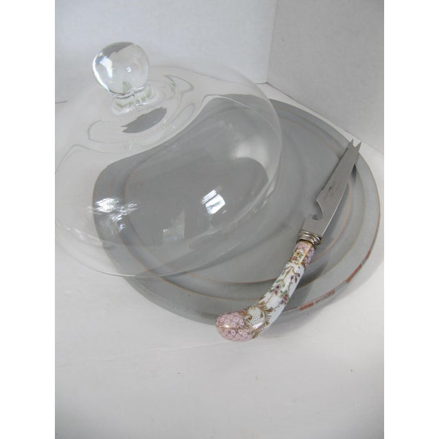 Silver-Plate Glasses/Coaster & Cheese Dome - 7 - Image 6 of 10