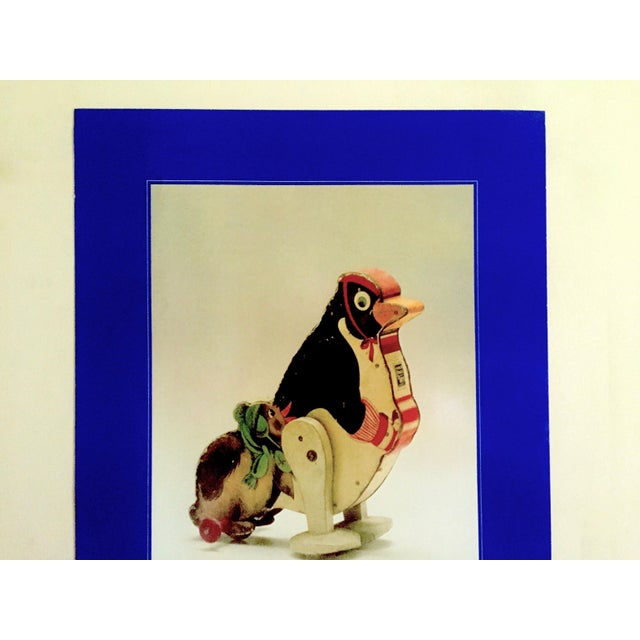 """This """" Jouets Americains 1925 - 1975 """" an Exhibition of American Toys, rare vintage 1980 offset photo lithograph print..."""