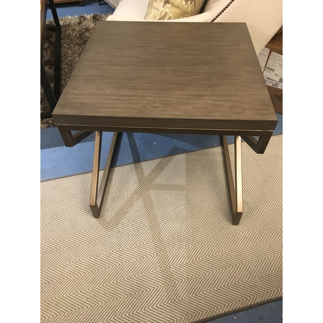 Artistica Home Edict Square End Table For Sale In Chicago - Image 6 of 8