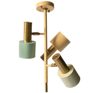 Adjustable Flush Mount by Jo Hammerborg for Fog & Mørup, Denmark For Sale