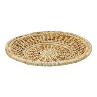 20th Century Native American Tohono O'odham Split Stitch Woven Basket