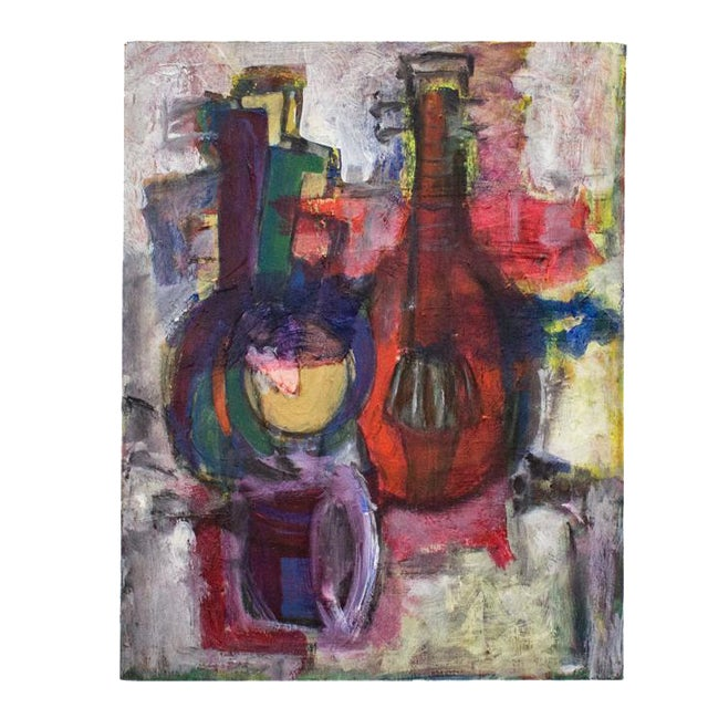 Instrumental Abstract Painting - Image 1 of 7